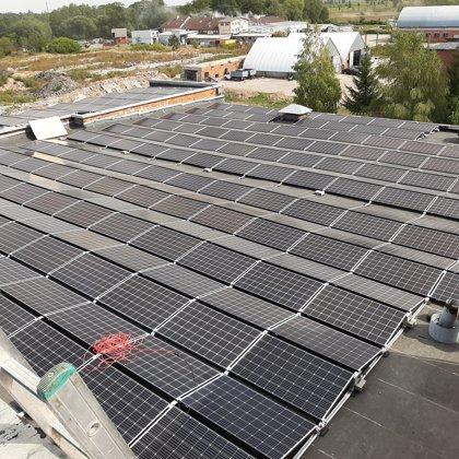 Saules paneļi ražošanas uzņēmumam Nākotnē