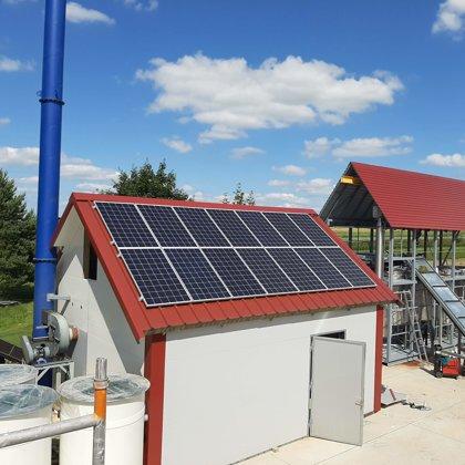 Ražošanas ēka Dobele 4 kw 2019 gads ABB sistēma