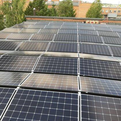Ražošanas ēka Jelgava 30 kW 2019 gads Solaredge sistēma