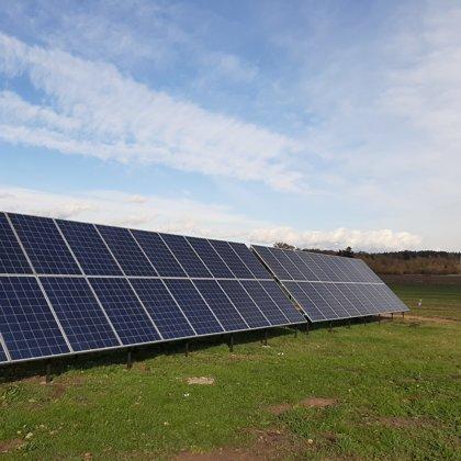 Saimniecība Jumpravā 12 kw 2019 gads Solaredge sistēma