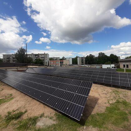 Privāta elektrostacija Daugavpils 75kw -2020 gads