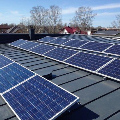 Marupe privātmāja 4,25kw saules elektrostacija 2016 gads Kostal sistēma