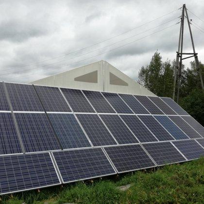 Līči autoserviss 6,8kw saules elektrostacija 2017 gads Kostal sistēma
