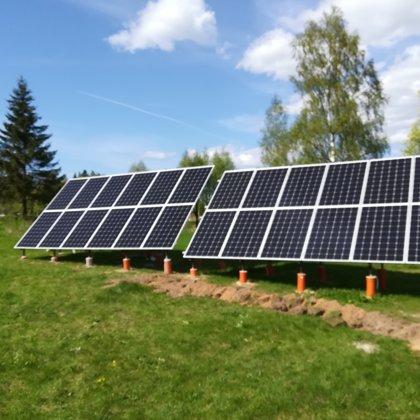 Privatmāja Sigulda 7 kw 2017 gads Solaredge sistēma