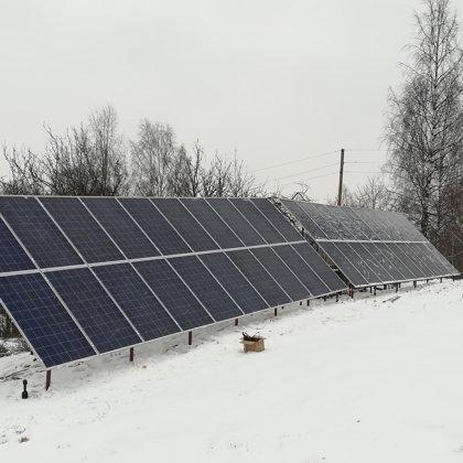Privatmāja Krāslavā 10kw 2018 gads SMA sistēma